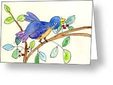 A Bird Greeting Card