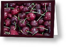 A Cherry Bunch Greeting Card