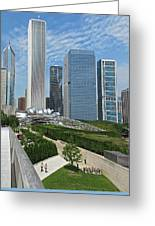 A Chicago View Greeting Card