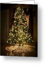 A Christmas Tree Greeting Card