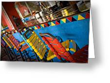 A Colorful Bar Greeting Card
