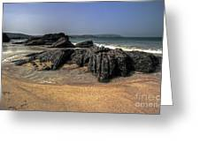 A Cornish Beach  Greeting Card