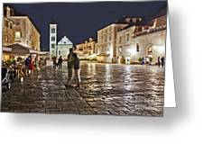 A Croatian Night Greeting Card