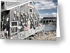 A Day In Bar Harbor Greeting Card