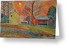 A Dover Pennsylvania Farm Greeting Card