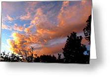 A Dramatic Summer Evening 2 Greeting Card