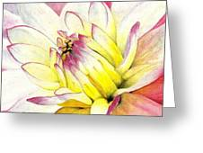 A Drop Of Yellow Greeting Card