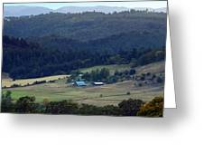 A Farm In The Valley Img 6794 Greeting Card