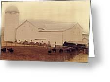 A Farm Somewhere Greeting Card