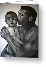 A Fathers Love Greeting Card