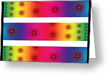 A Fractal Spectrum Greeting Card