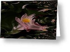 A Fractual Lily Greeting Card