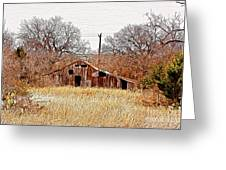 A-frame Barn - No.745 Greeting Card