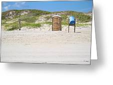A Full Service Beach Greeting Card