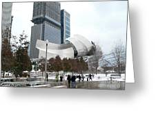 A Gehry Winter Greeting Card