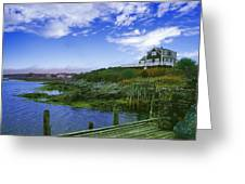 A Good View Greeting Card