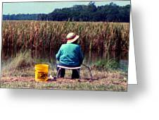 A Great Day Fishing Greeting Card