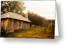 A Hut To Call Home Greeting Card