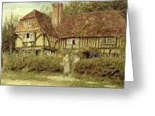 A Kentish Cottage Greeting Card