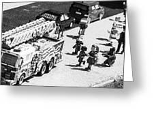 A Lego Emergency Greeting Card