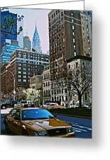 A Little Slice Of New York Greeting Card