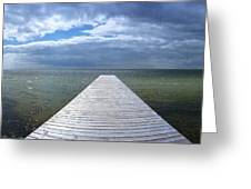 A Long Walk - Kattegat Greeting Card