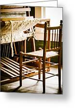 A Loom For Grandma Greeting Card