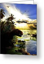 A Lost World Greeting Card