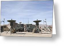 A Marine Unmanned Aerial Vehicle Greeting Card