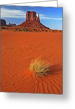 A Monument Valley View Greeting Card