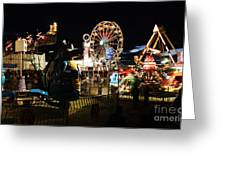 A Night At The Carnival Greeting Card