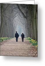 A Peaceful Stroll Greeting Card