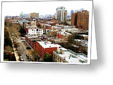 A Philadelphian View Greeting Card