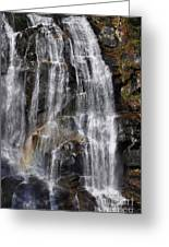 A Piece Of Whitewater Falls Greeting Card