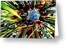 A Piney Abstract Greeting Card