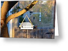 A Place To Perch Greeting Card