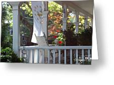 A Porch To Reflect Greeting Card
