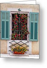 A Provence Window Greeting Card