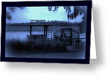 A Quiet Place By The Marsh Greeting Card