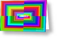 A Rainbow Is A Rainbow Is A Rainbow Greeting Card