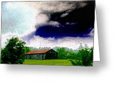 A Rainy Afternoon Greeting Card