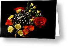 A Rose Bouquet Greeting Card