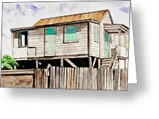 A San Pedro House Greeting Card