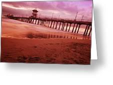 A Scenic Beach Greeting Card