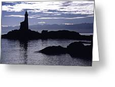 A Scenic Lighthouse Greeting Card