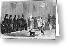 A Slave-pen At New Orleans Before Greeting Card