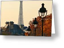 A Slice Of Paris Greeting Card