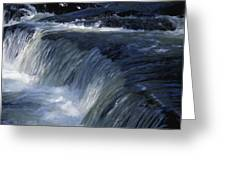 A Small Waterfall Greeting Card