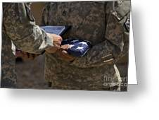 A Soldier Is Presented The American Greeting Card