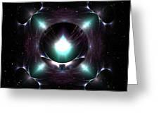 A Spacial Odyssey Greeting Card